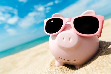 cerdos: Dinero.