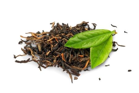hojas secas: Té.