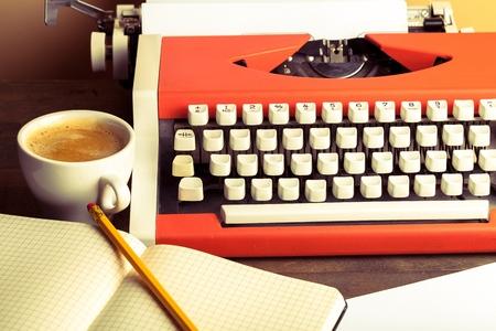 maquina de escribir: Escritor.