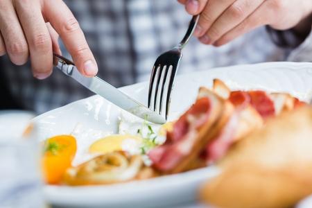 desayuno: Huevos.