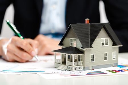 home finance: Partnership. Stock Photo