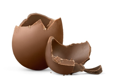 chocolate eggs: Egg.
