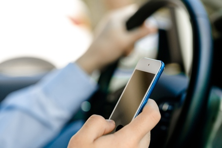 text message: Driving.