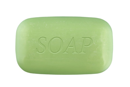 soap sud: Bar Of Soap. Stock Photo