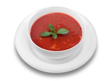 tomate: Soupe.