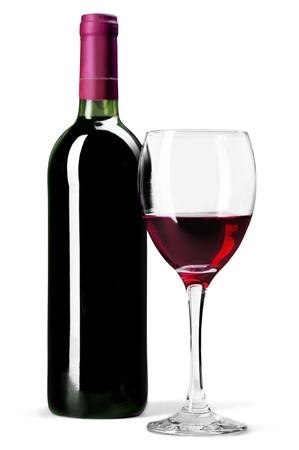 Wine Bottle. Foto de archivo