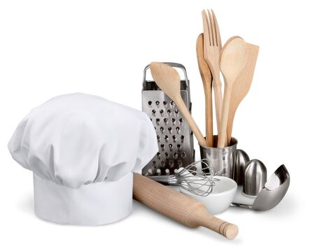 sifter: Chefs Hat. Stock Photo