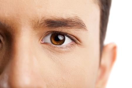 ojos marrones: Ojo.