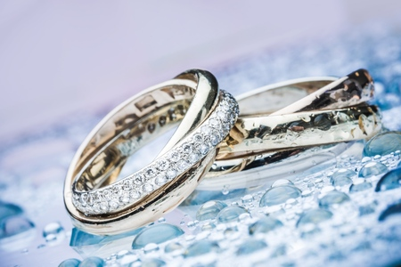 silver jewelry: Jewelry. Stock Photo