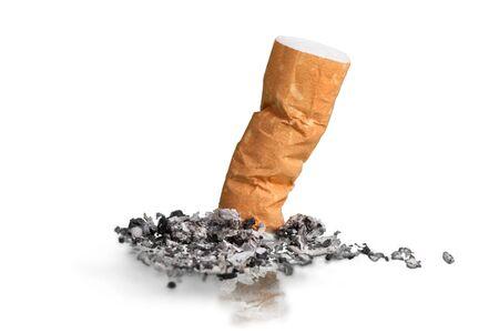 butt: Cigarette. Stock Photo