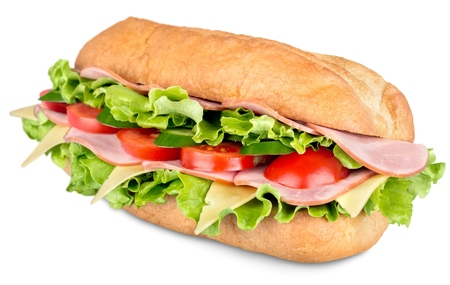 sandwich: Sandwich. Stock Photo