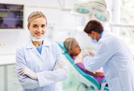 dentist: Dentista. Foto de archivo