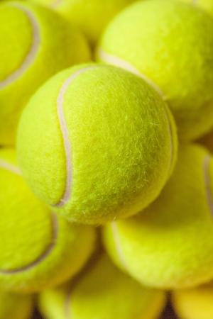 exercise ball: Tennis. Stock Photo