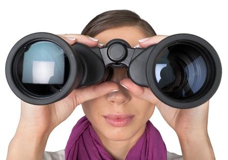 Binoculars. Standard-Bild