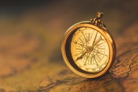 compass: History. Stock Photo