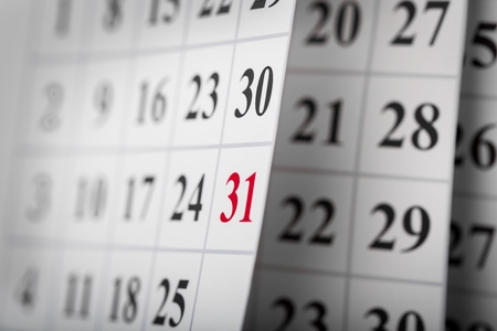 Calendar. Фото со стока