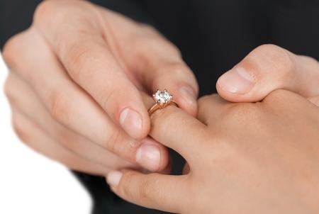 wedding vows: Wedding.
