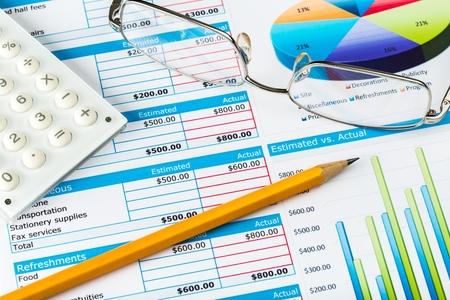 finance report: Finance.