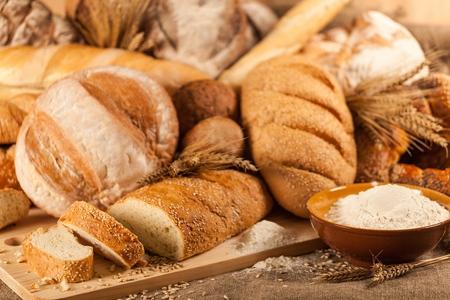 bakery: Bread. Stock Photo