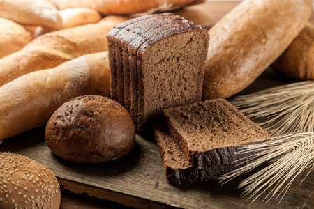 bread: Bread. Stock Photo