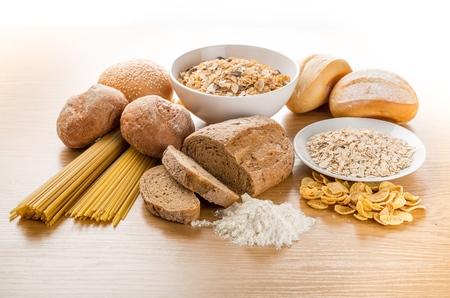 white bread: Bread. Stock Photo