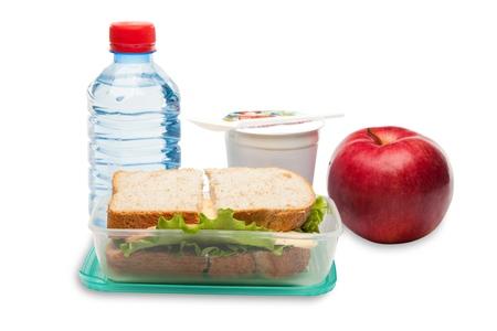 almuerzo: Caja de almuerzo.
