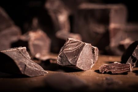 dark chocolate: Chocolate.