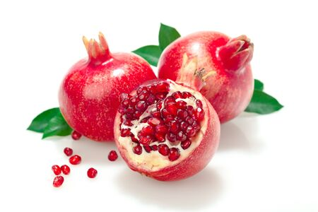 processed grains: Pomegranate. Stock Photo
