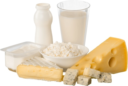 dairy product: Dairy Product. Stock Photo
