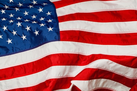 american flags: Flag. Stock Photo