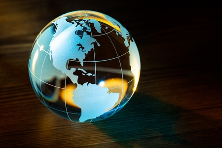 Globe. Standard-Bild