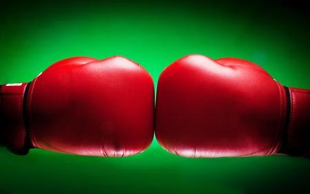 conflicto: Guante de Boxeo.