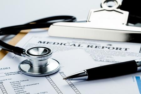 stethoscope exam: Healthcare And Medicine.