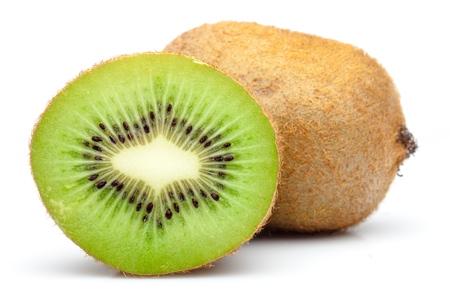 frutas tropicales: Kiwi. Foto de archivo