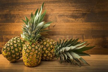 パイナップル。 写真素材