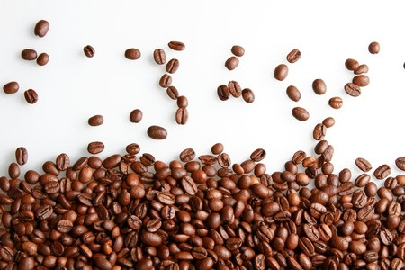 커피 콩.