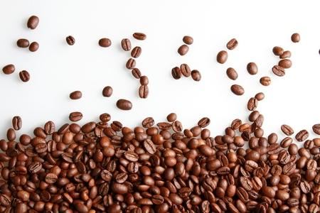 alubias: Grano de café.