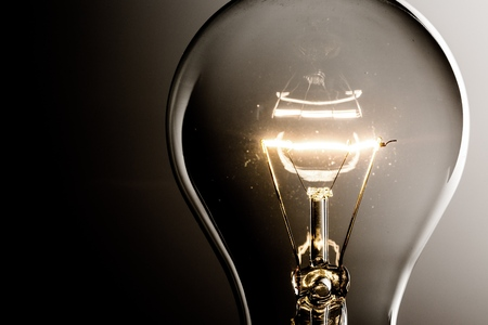 glowing light bulb: Solution.