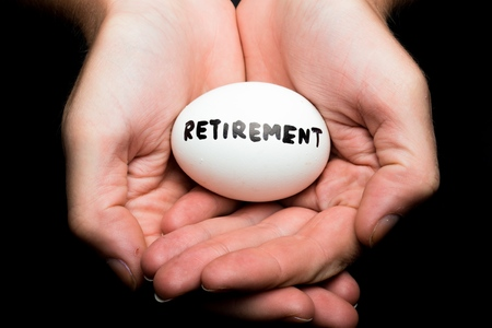 nest egg: Retirement.
