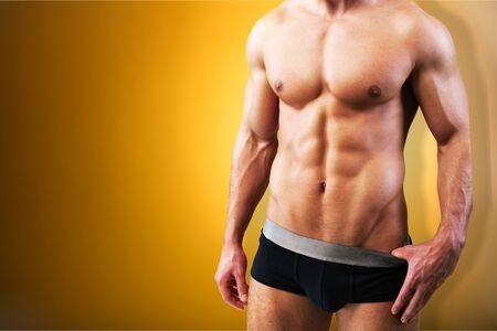 tricep: Underwear. Stock Photo