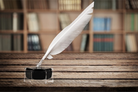 scribe: Quill Pen.
