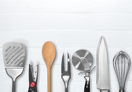 cuchillo de cocina: Utensilio de cocina. Foto de archivo