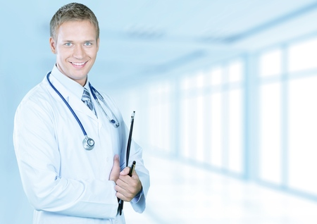 male doctor: Doctor.