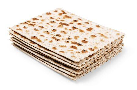 jewry: Matzahs. Stock Photo