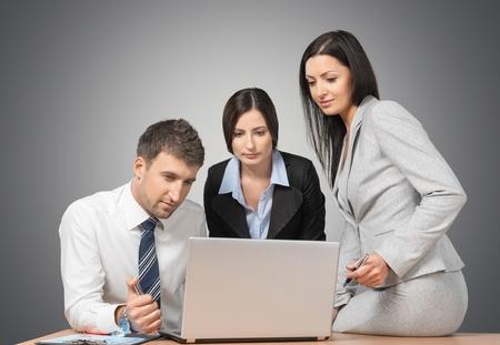 work group: Marketing. Stock Photo