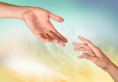Menschliche Hand.