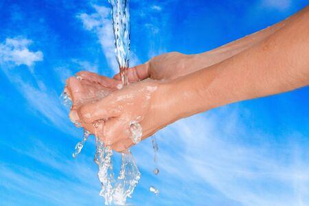 bar of soap: Human Hand.
