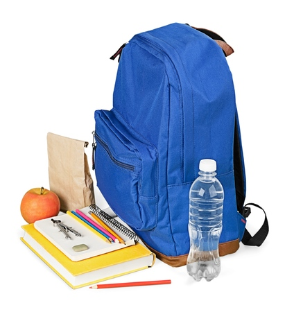 secondary school: Backpack.