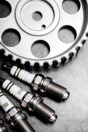 torque wrench: Auto Repair Shop. Stock Photo