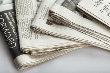 world news: Journalist. Stock Photo